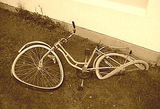 Wrecked Bike
