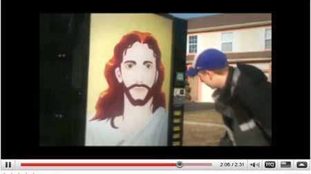 Vending Machne Jesus