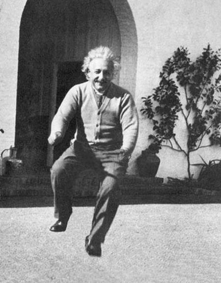 Einstein-sans-Bike