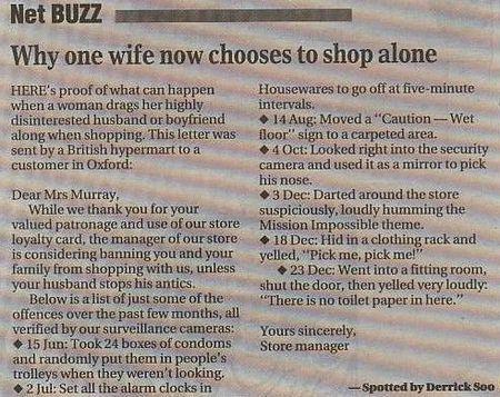 Men & Shopping
