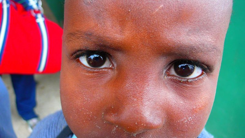 In a child's eyes
