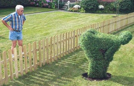 Neighbors-gardening