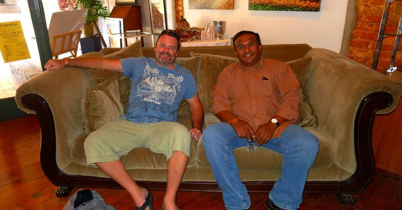 Me and John