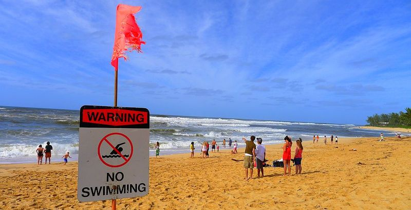 Surf Warning