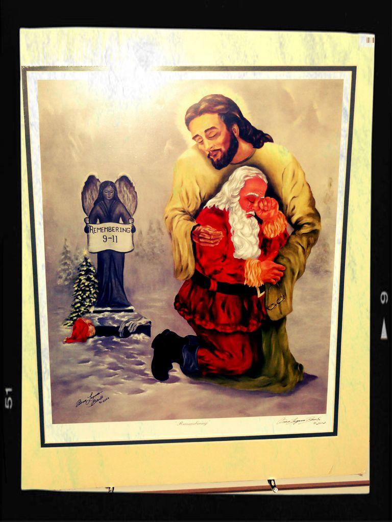 911 Jesus Santa - 2
