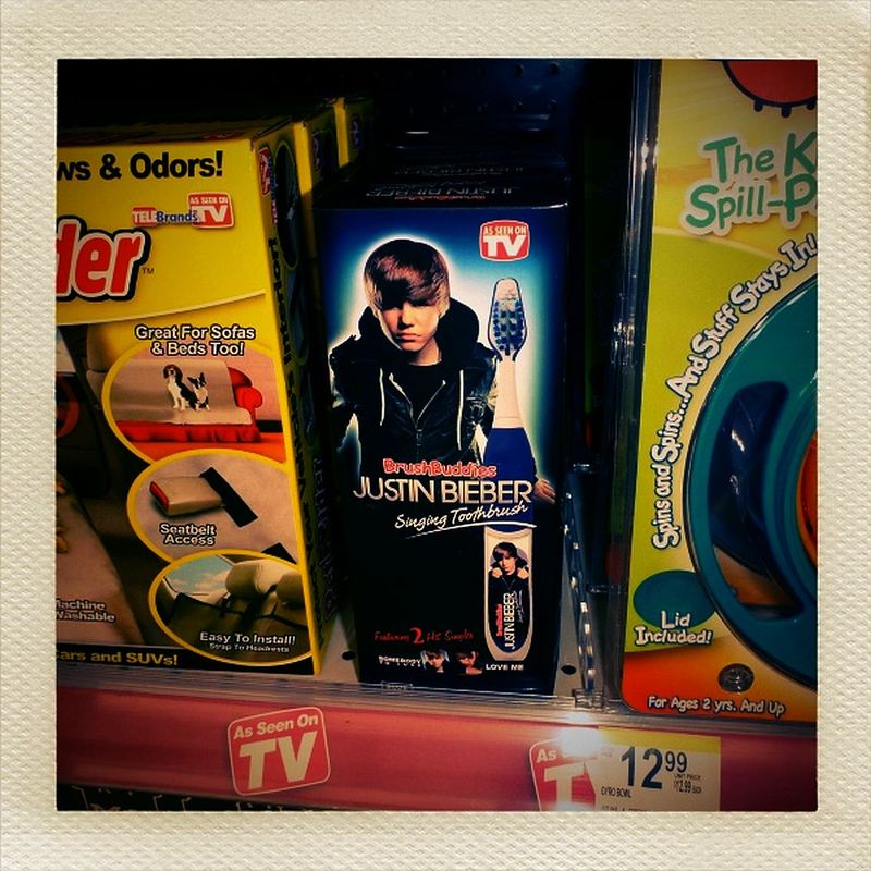 Bieber Singing Toothbrush