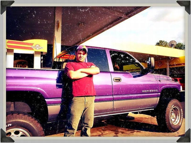 Purple Truck 96