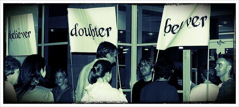 Doubter Believer