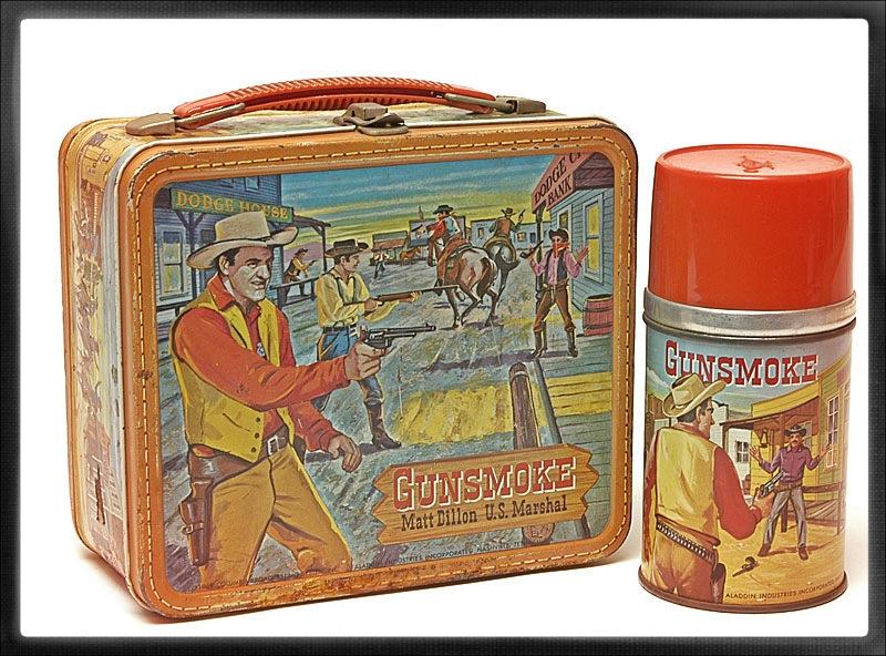 Gunsmoke Lunch Box
