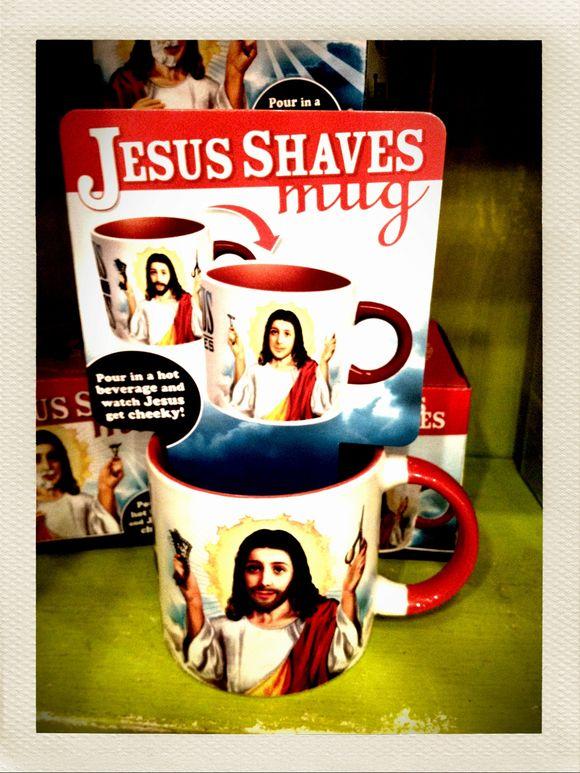 Jesus Shaves!