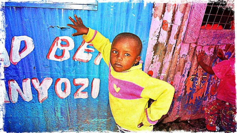Vibrant in Mathare