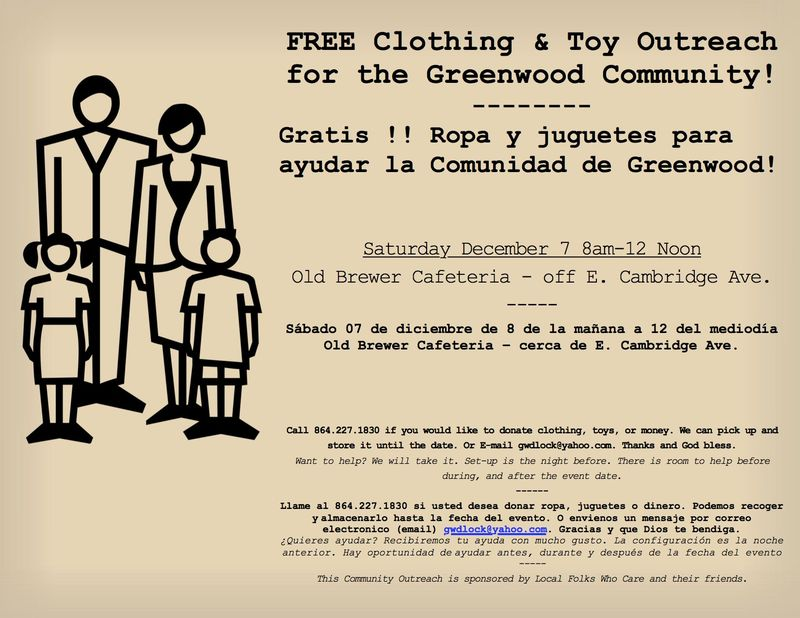 December Outreach