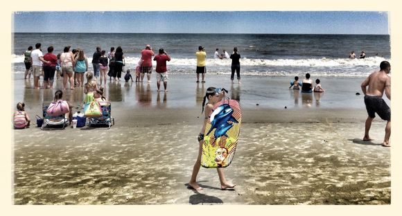 Baptism - Sunday at the beach