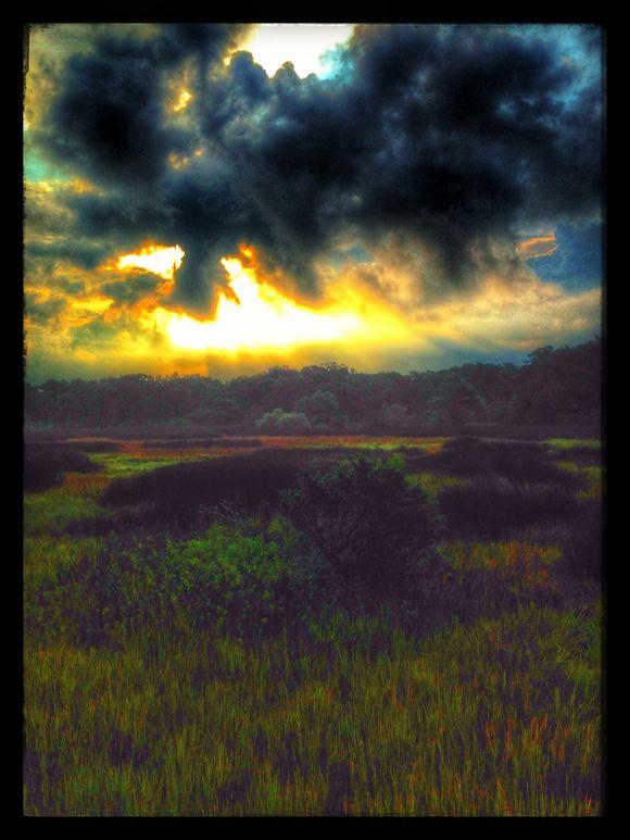 Morning Bike Ride on The Island