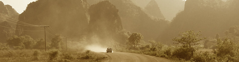 Dusty road